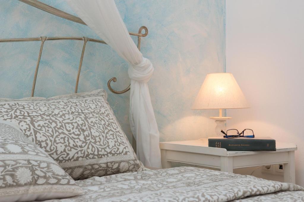 Letto o letti in una camera di 9 Muses Naxos