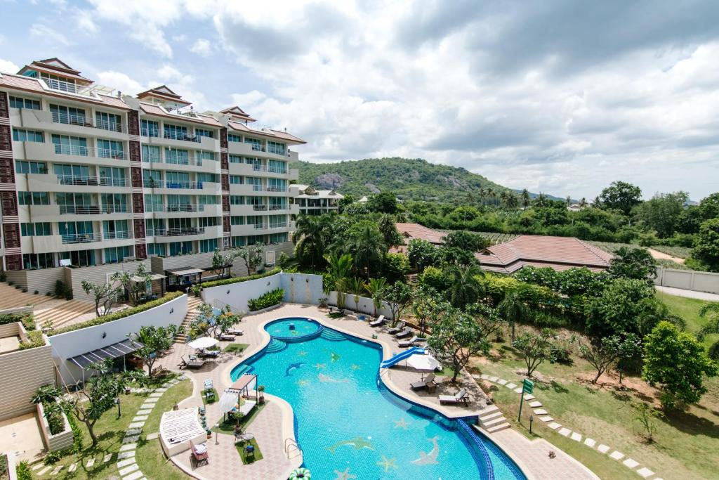 A view of the pool at SeaRidge Hua Hin by Salinrat or nearby