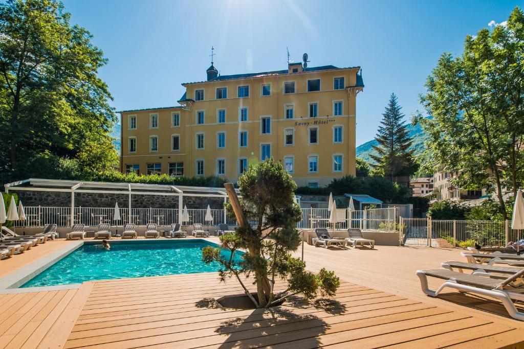 Savoy Hotel Brides-les-Bains, France