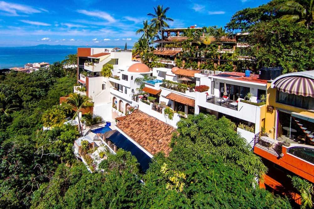 A bird's-eye view of Casa Cupula Luxury LGBT Boutique Hotel