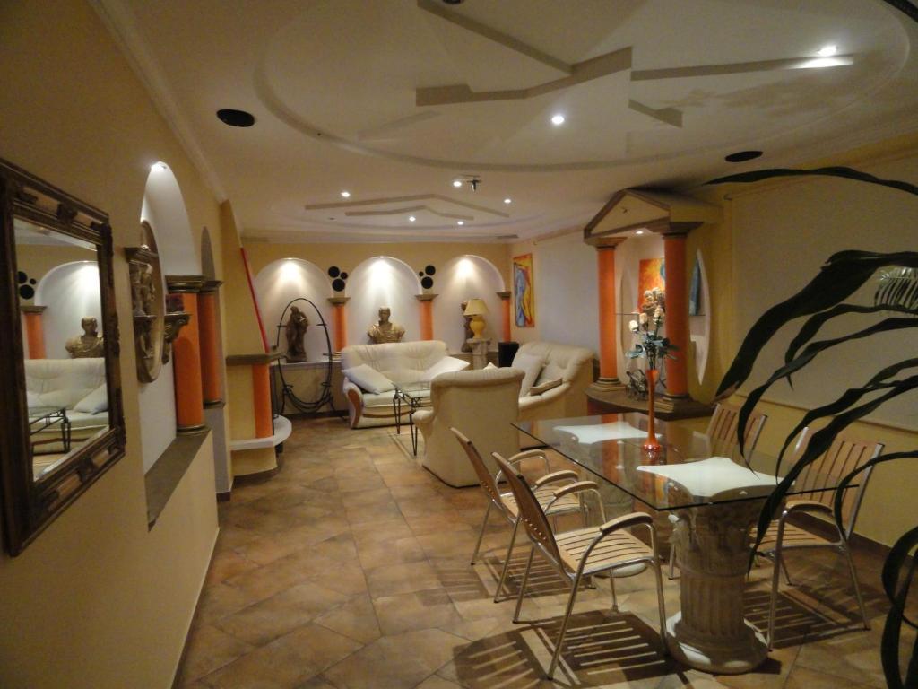 Restauracja lub miejsce do jedzenia w obiekcie Willa Rzymska