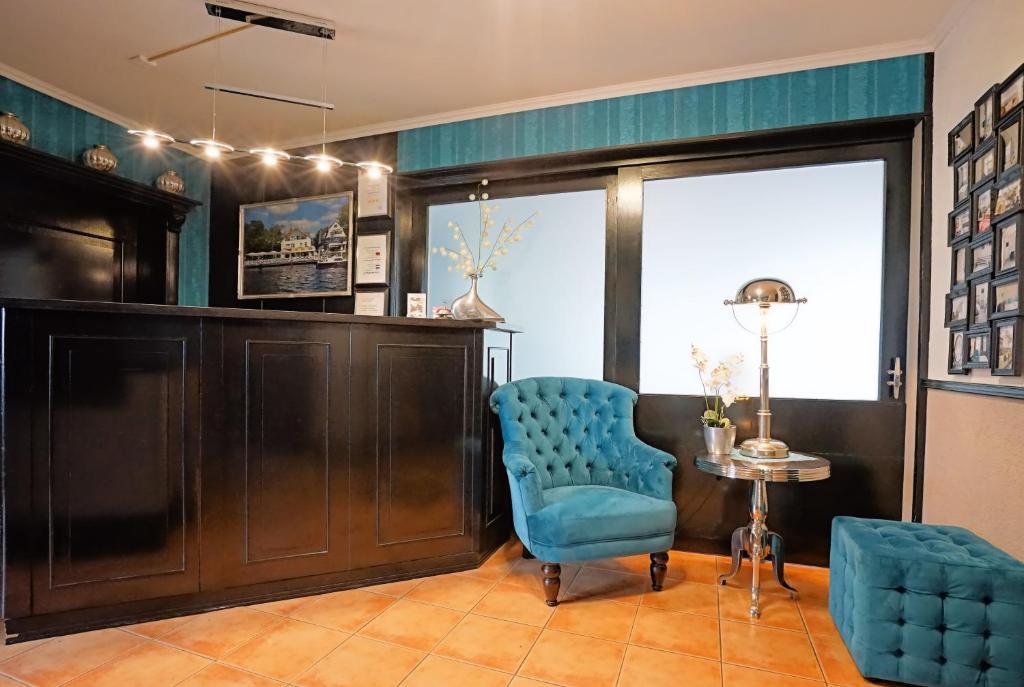 Lobby/Rezeption in der Unterkunft Hotel Havel Lodge Berlin