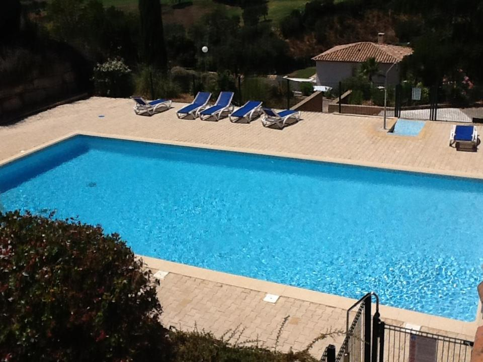 A view of the pool at Mazet sur le golf or nearby
