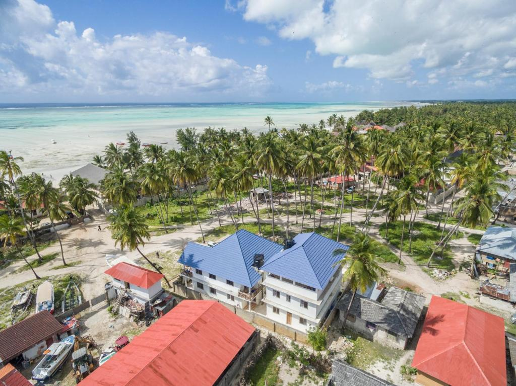 A bird's-eye view of Kite&Active Guesthouse