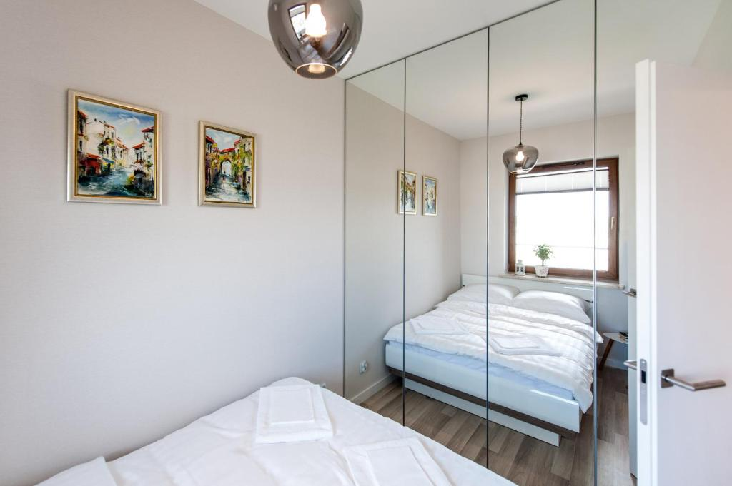 Lova arba lovos apgyvendinimo įstaigoje Dream&Travel Apartments