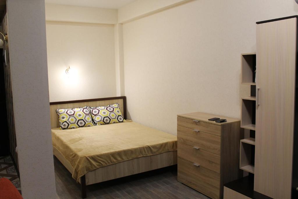Кровать или кровати в номере Studio 55