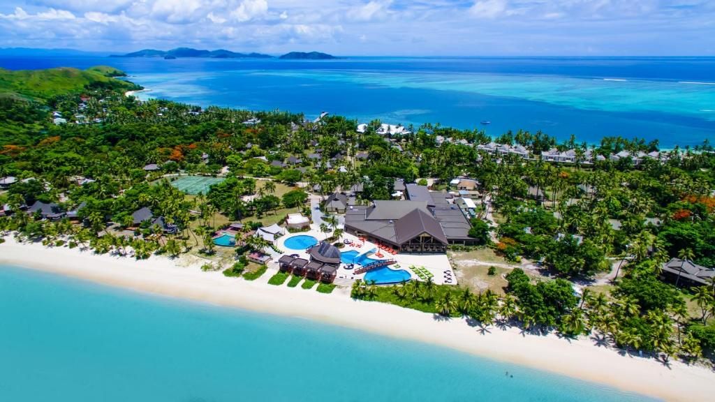 A bird's-eye view of Mana Island Resort & Spa - Fiji
