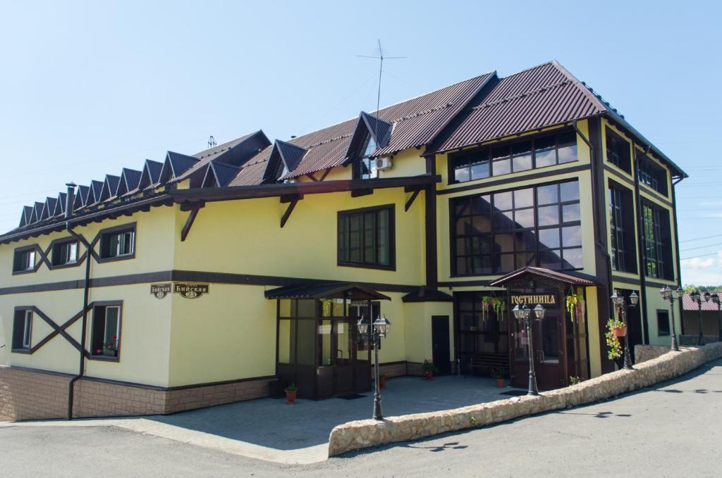 Гостиный Двор Алтай зимой