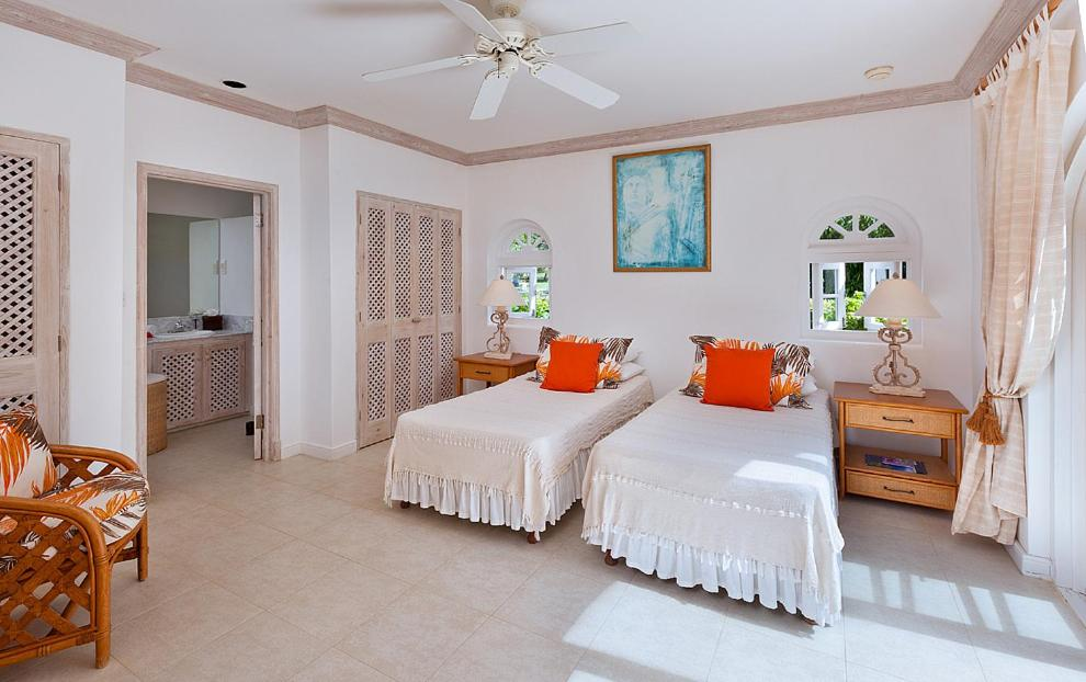 A bed or beds in a room at Lantana Resort Barbados by Island Villas