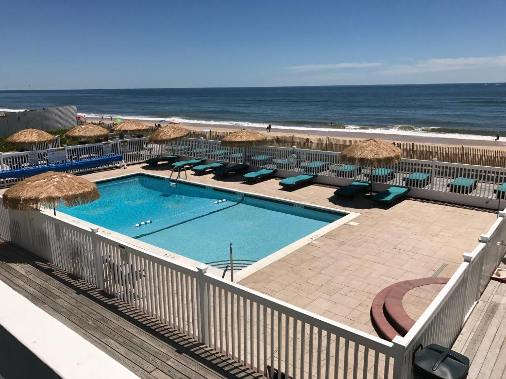 A view of the pool at Ocean Surf Resort or nearby