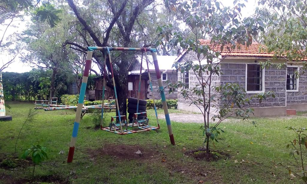 Children's play area at Mau Springs Country Resort