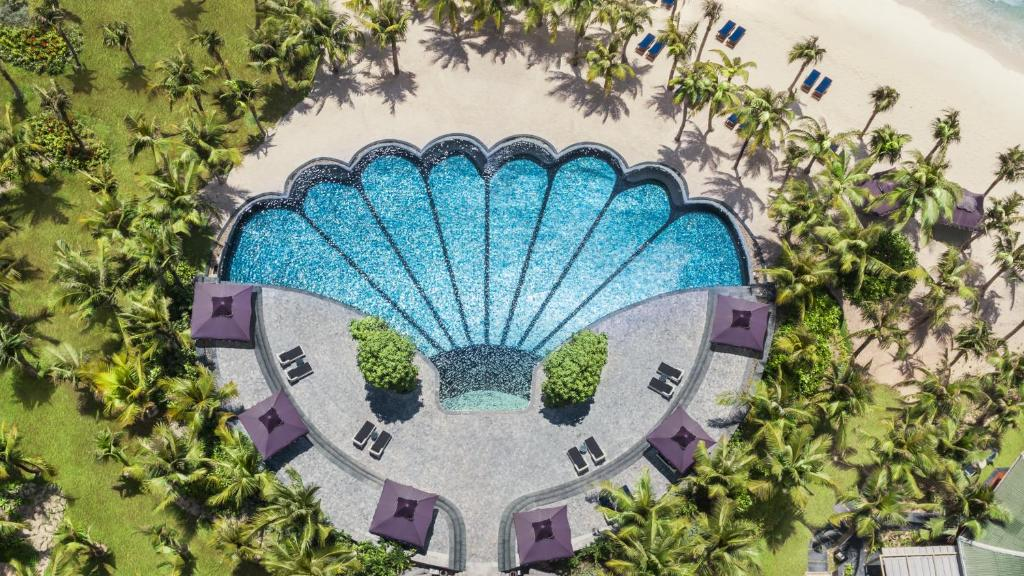 A view of the pool at JW Marriott Phu Quoc Emerald Bay Resort & Spa or nearby
