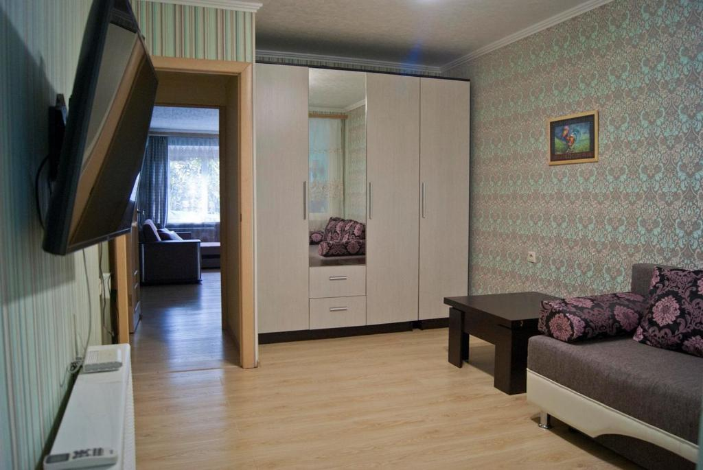 Гостиная зона в Apartament on Podgornaya 5