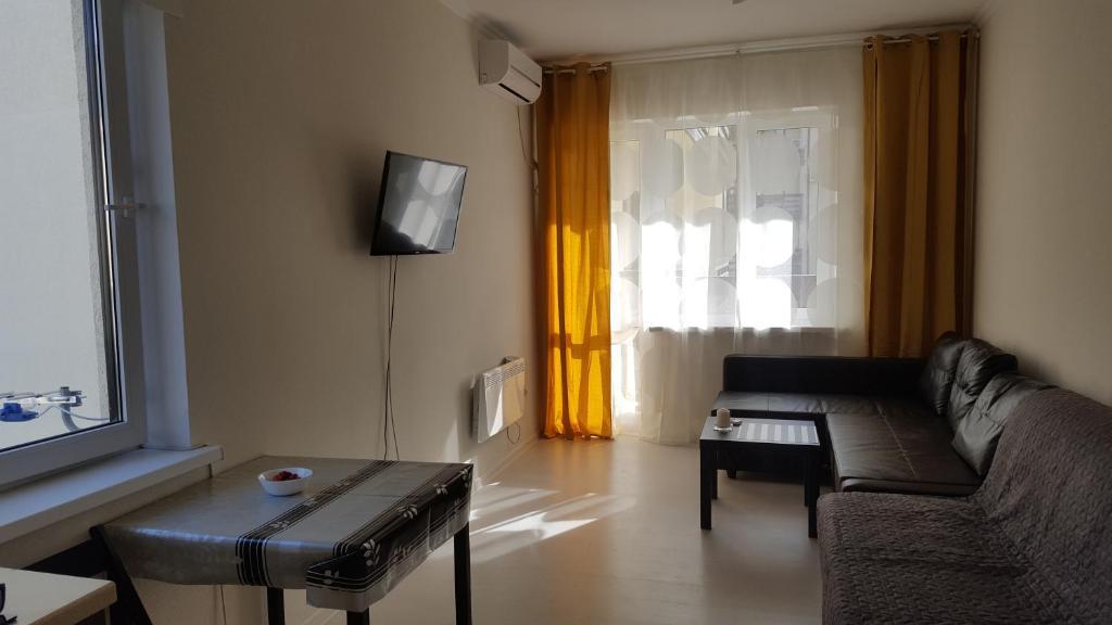 Гостиная зона в Апартаменты в Резиденции Утриш