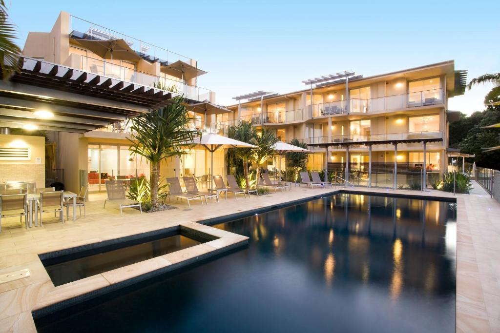 The swimming pool at or near Maison Noosa