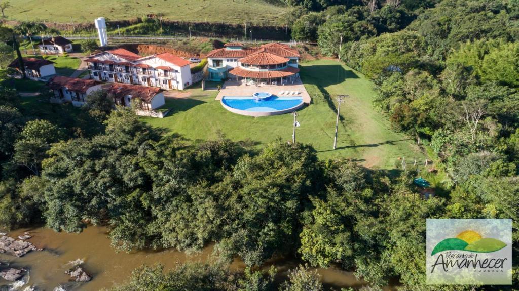 A bird's-eye view of Pousada Recanto do Amanhecer