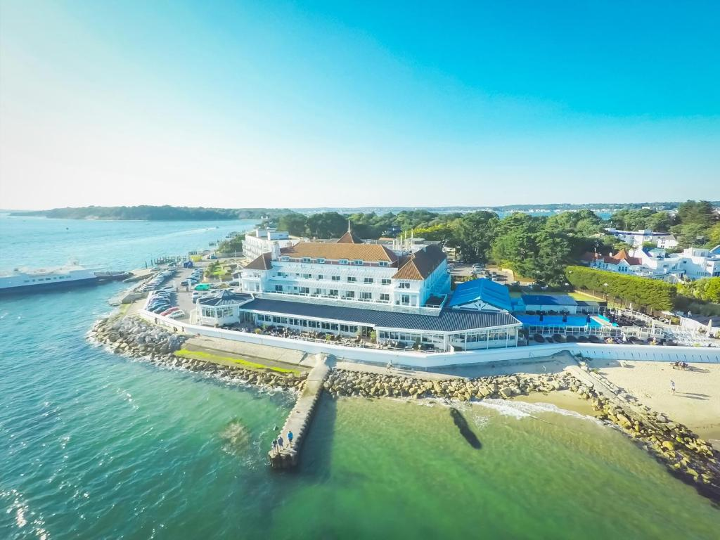 A bird's-eye view of Haven Hotel