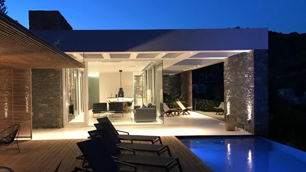 The swimming pool at or close to A - Luxury Villas