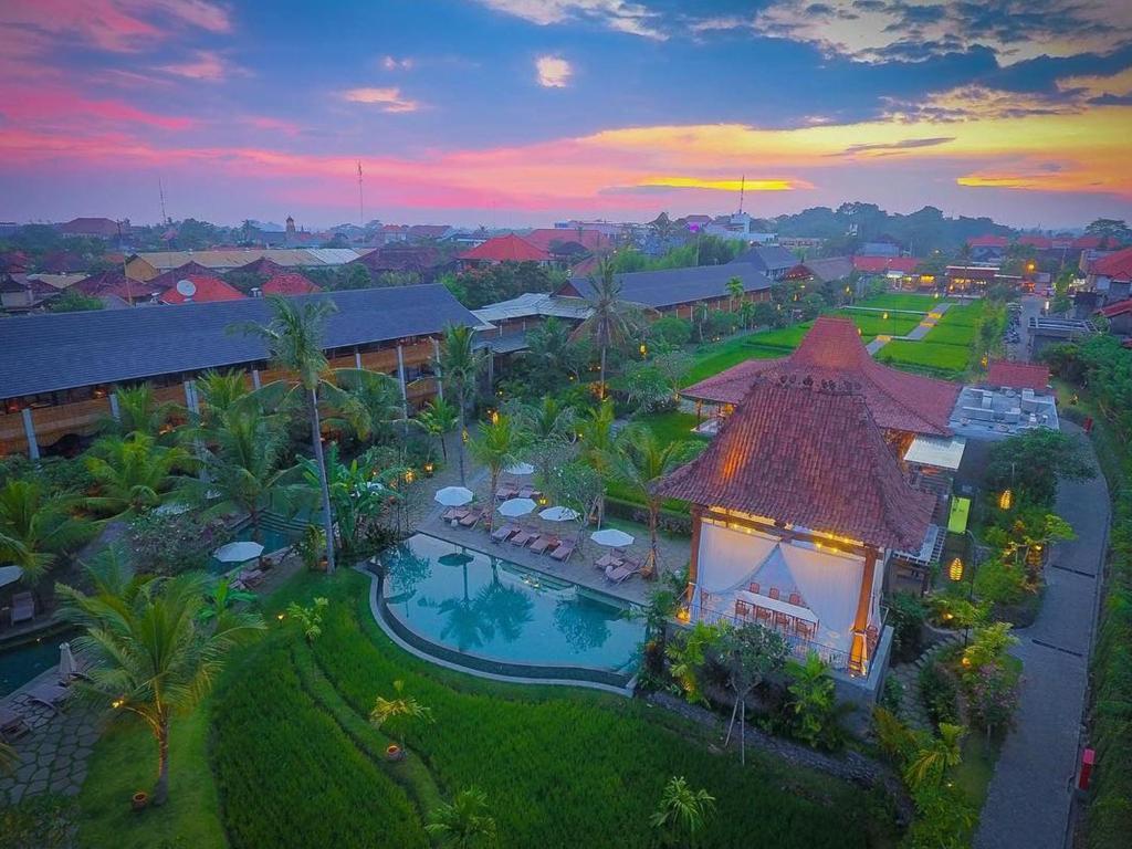 A bird's-eye view of Alaya Resort Ubud