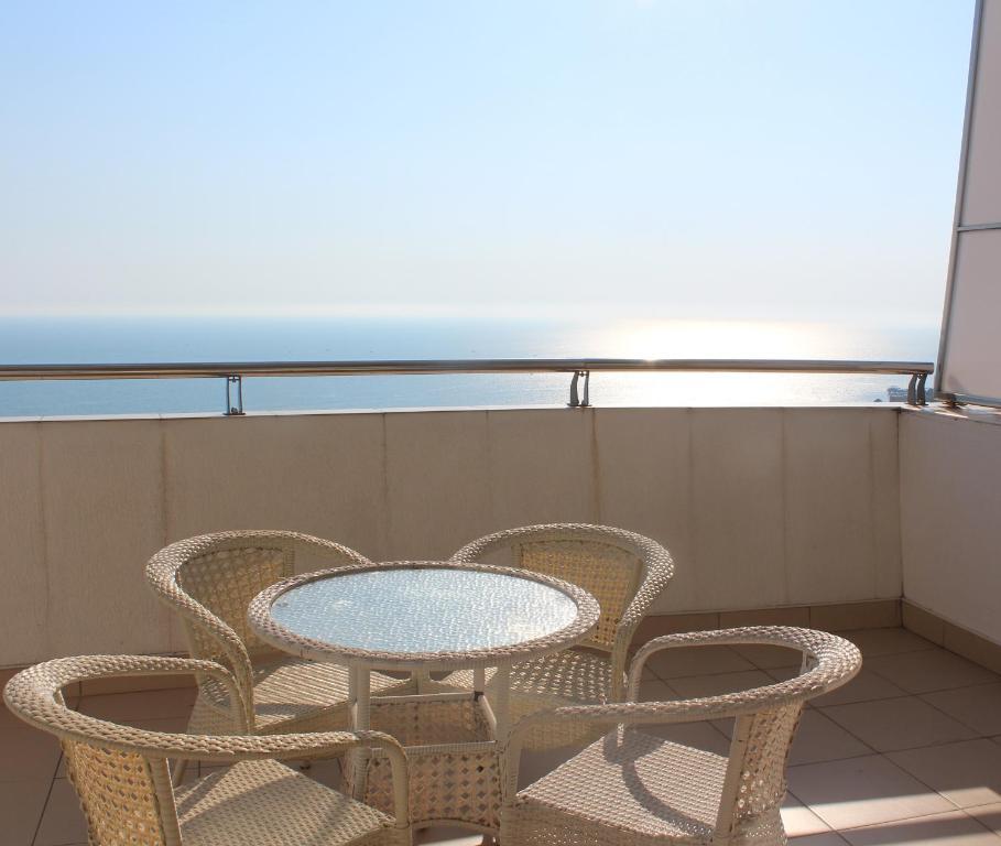 Балкон или терраса в Apartsochi Premium Апартаменты