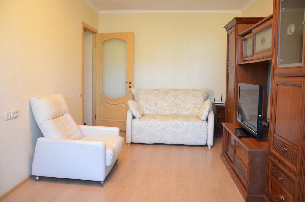 Гостиная зона в Апартаменты в районе Светлана