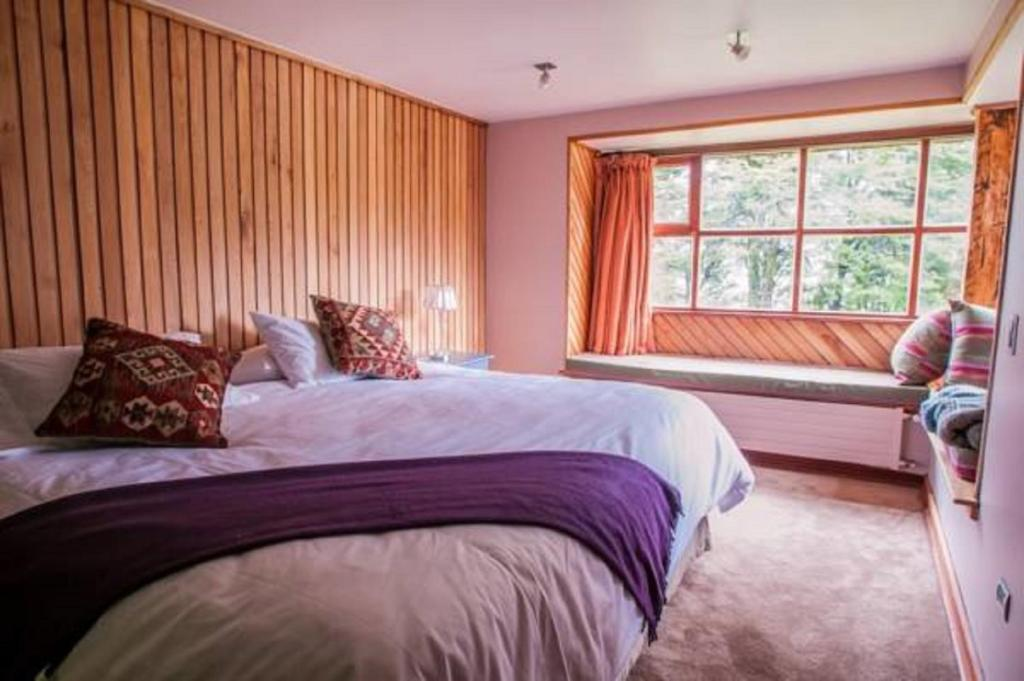 Cama o camas de una habitación en Yelcho en la Patagonia