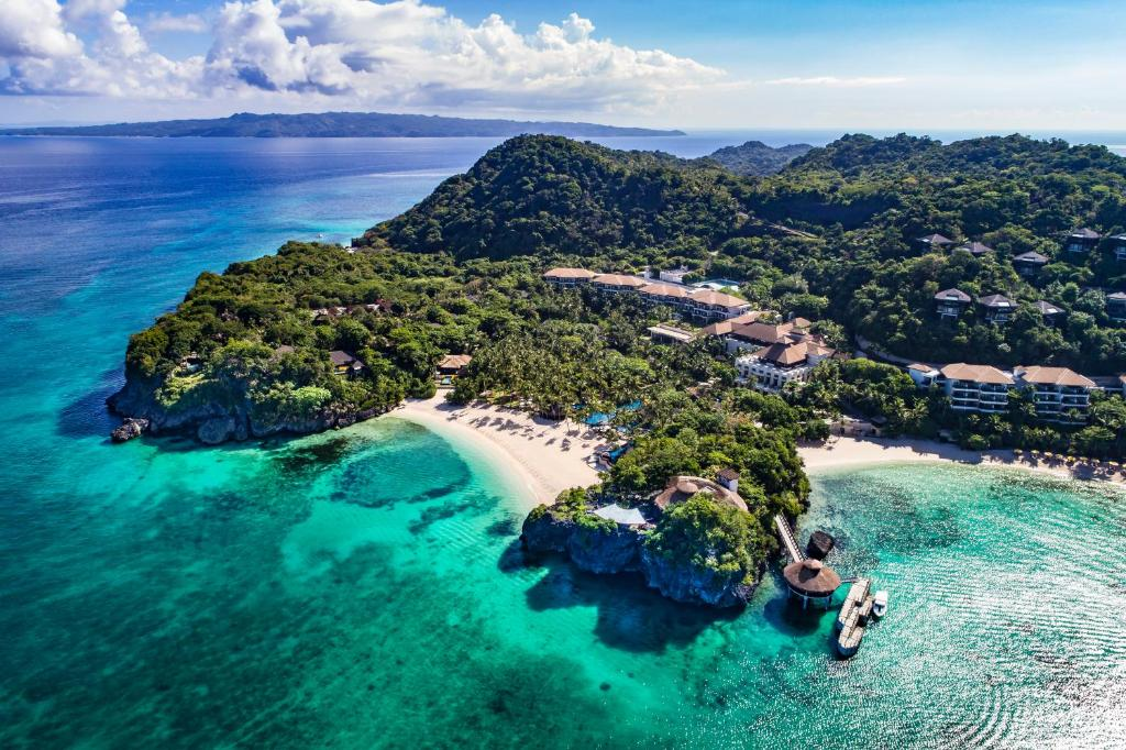 A bird's-eye view of Shangri-La's Boracay Resort and Spa