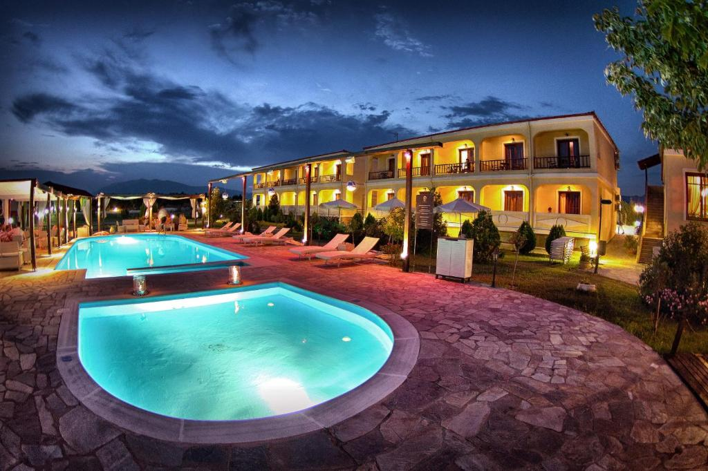 The swimming pool at or near Agnantio Hotel & Spa