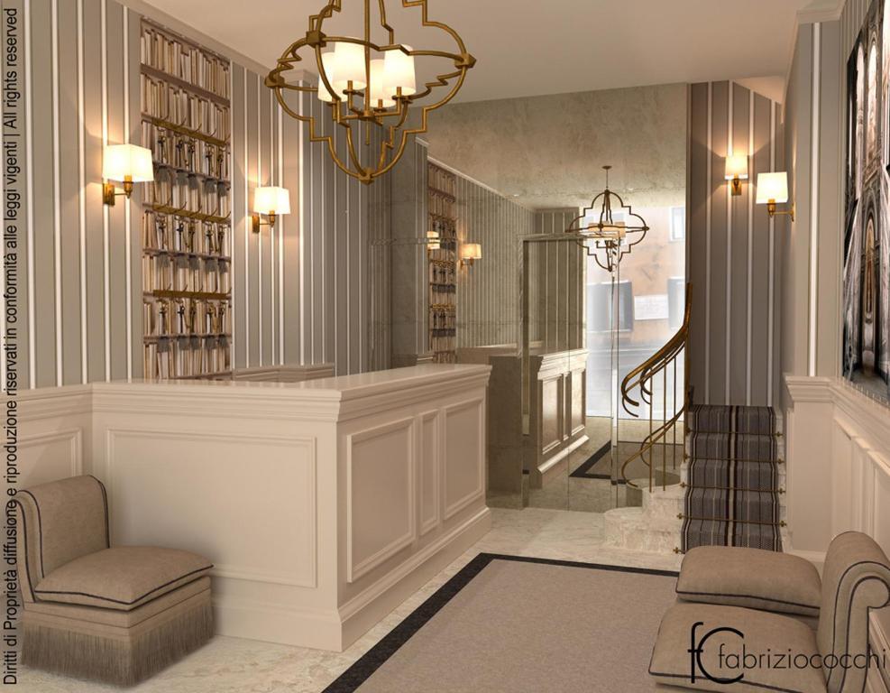 Hall o reception di Hotel Bartolomeo