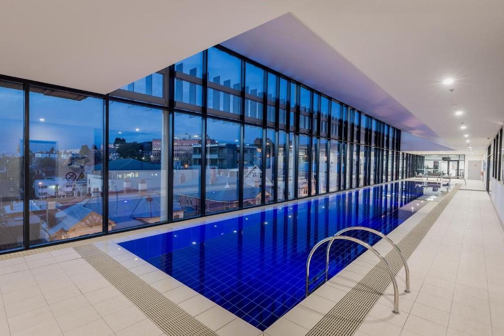 The swimming pool at or near Ibis Styles Hobart
