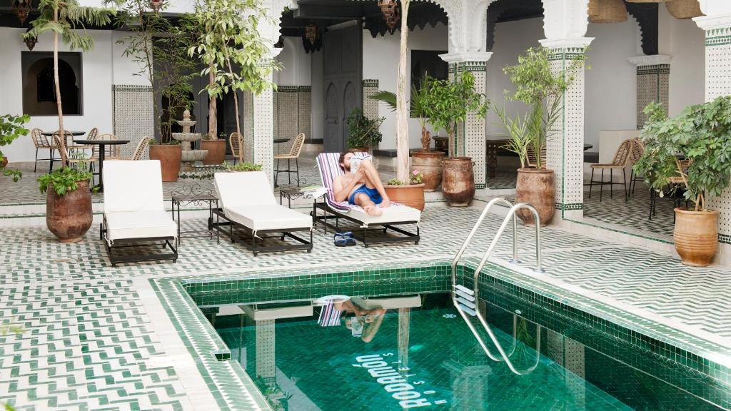 The swimming pool at or close to Rodamon Riad Marrakech