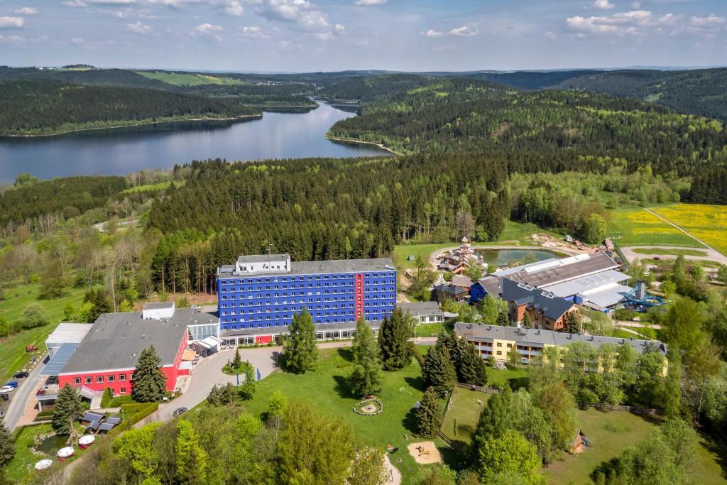 A bird's-eye view of Hotel Am Bühl