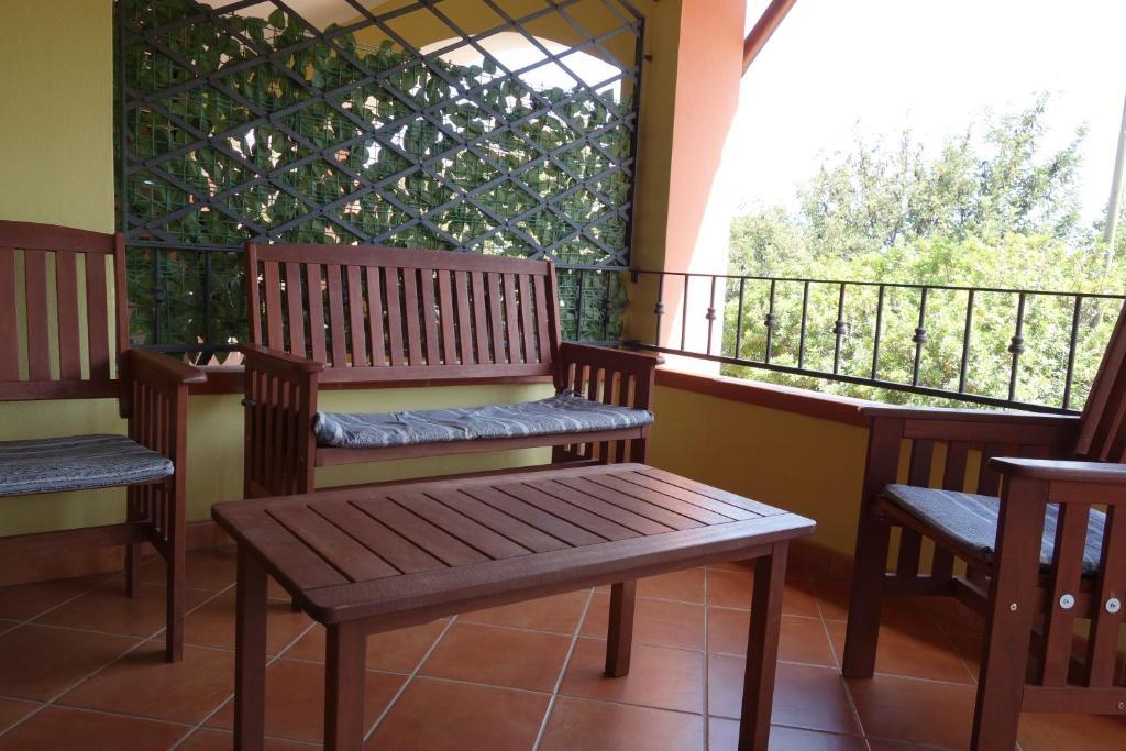 A balcony or terrace at Casa Navarra