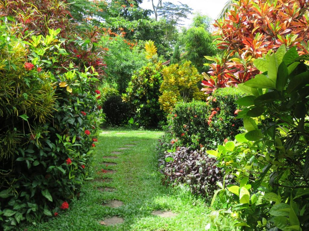 Jardín al aire libre en Maylyn Guest House