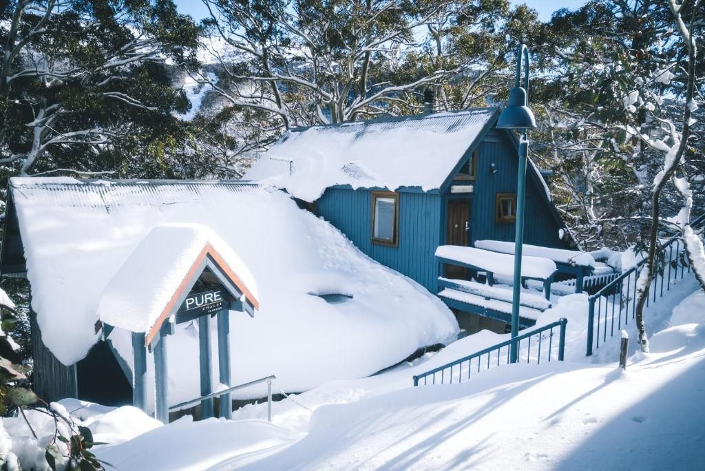 Pure Chalet Thredbo during the winter