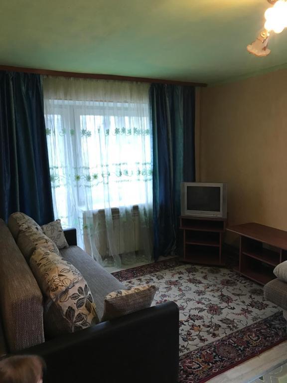 Гостиная зона в Апартаменты на Богдана Хмельницкого