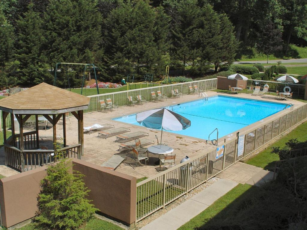 A view of the pool at Chestnut Tree Inn - Cherokee or nearby