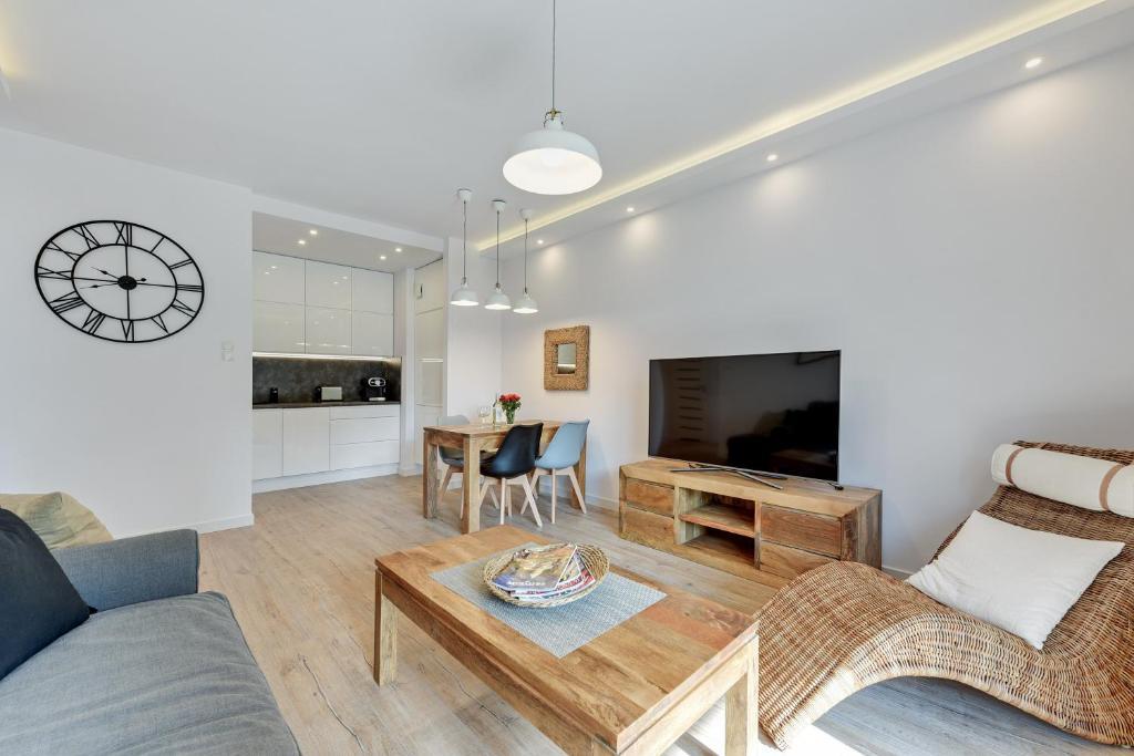 Część wypoczynkowa w obiekcie Nadmorze Premium Apartments