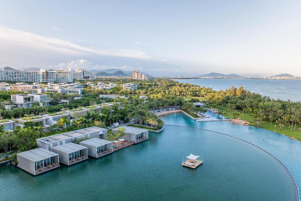A bird's-eye view of The Sanya EDITION