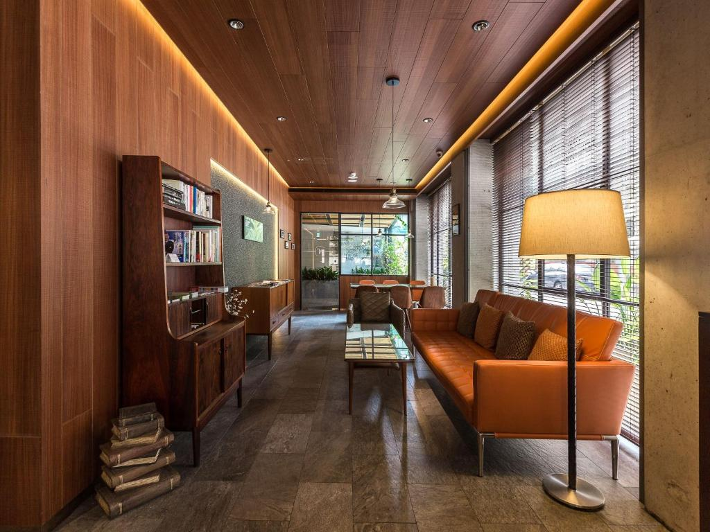 A seating area at inhouse residence
