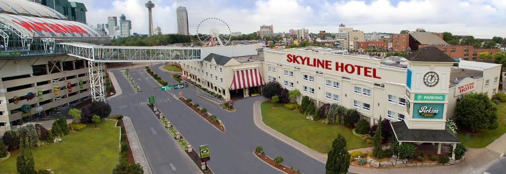 Skyline Hotel & Waterpark a vista de pájaro