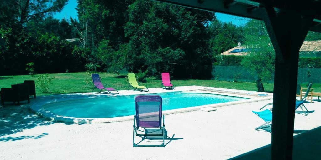 The swimming pool at or near B&B Le Magnolia