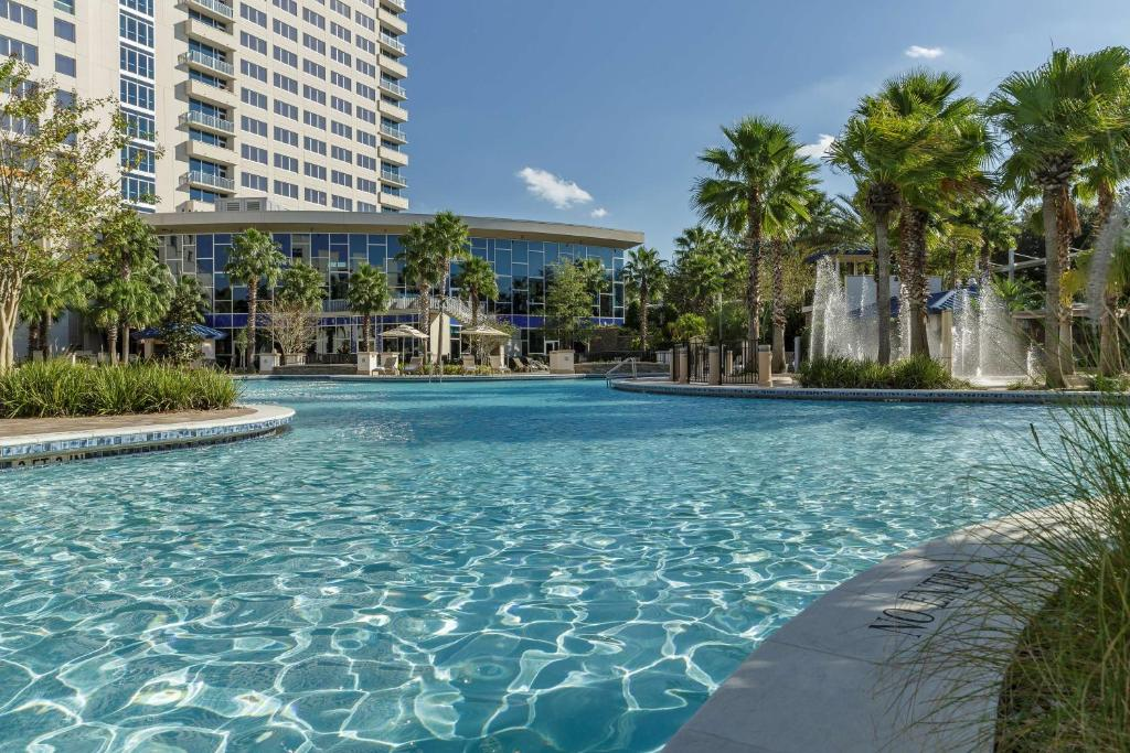 The swimming pool at or close to Hyatt Regency Orlando