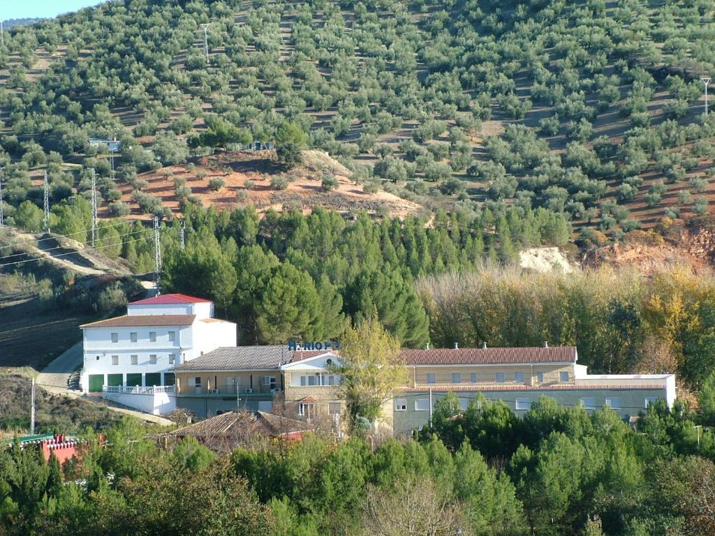 Hotel Río Piscina a vista de pájaro
