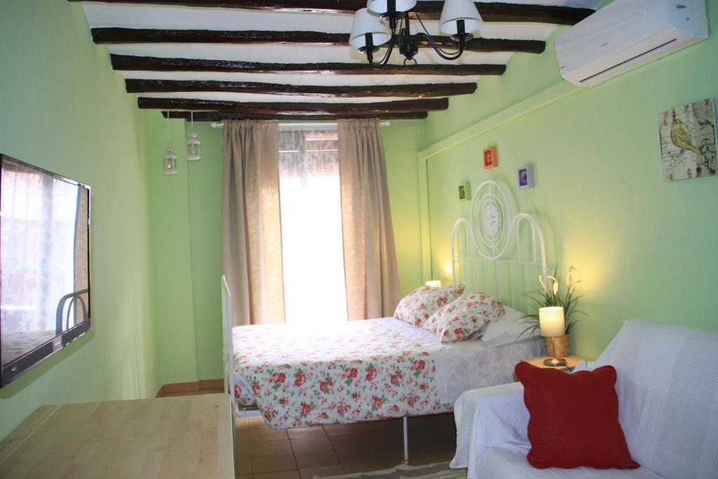 Cama o camas de una habitación en Ca La Victoria