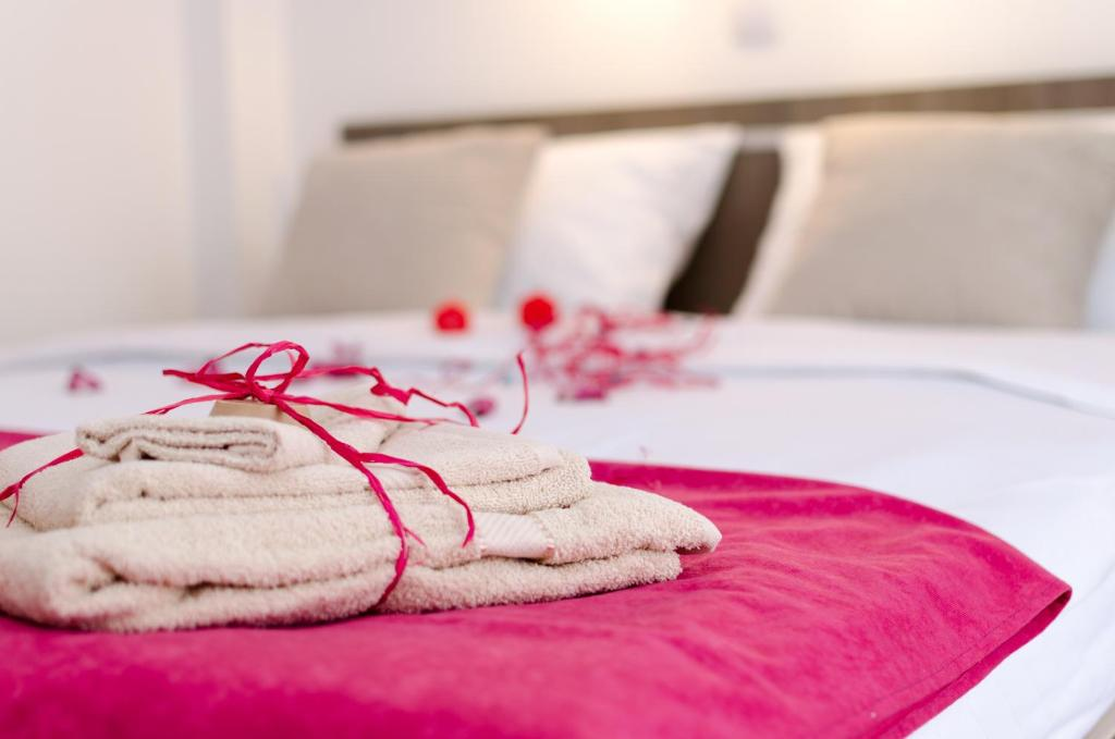 Krevet ili kreveti u jedinici u okviru objekta Apartments Maja