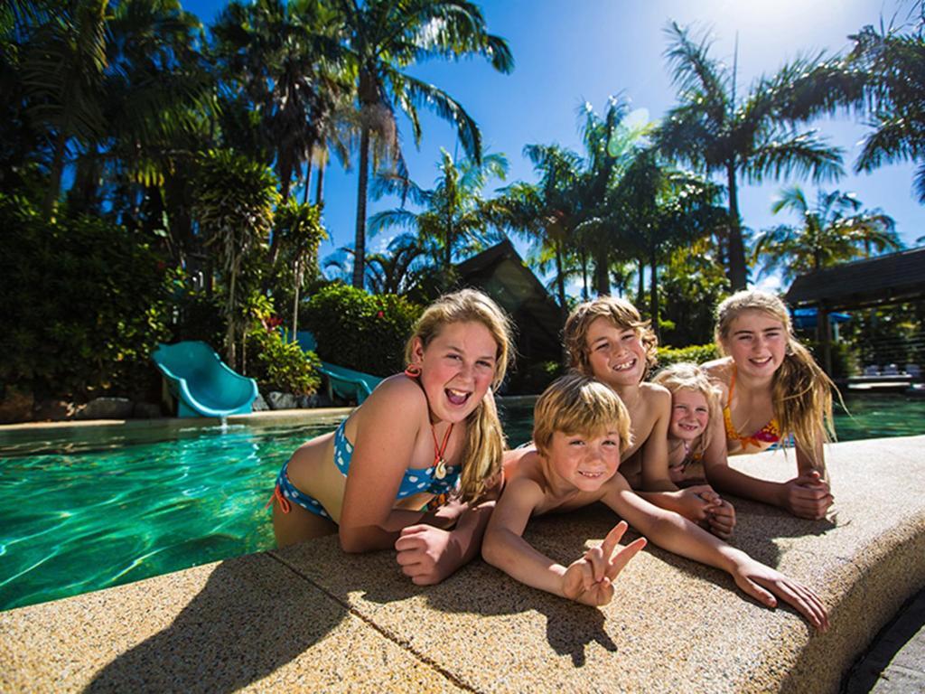 The swimming pool at or near NRMA Darlington Beach Holiday Resort