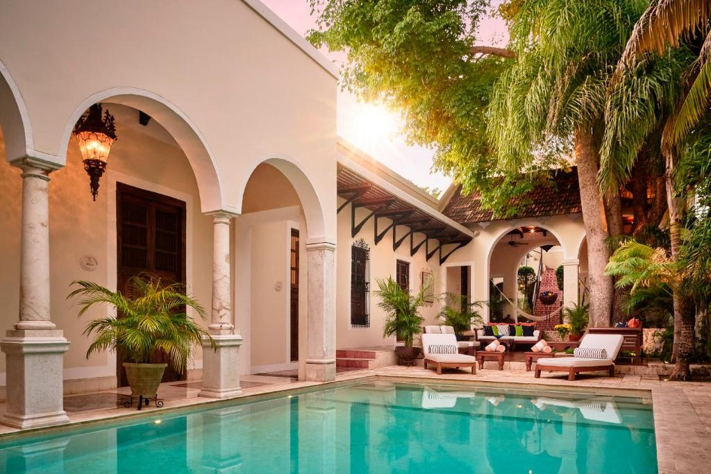 The swimming pool at or near Casa Lecanda Boutique Hotel