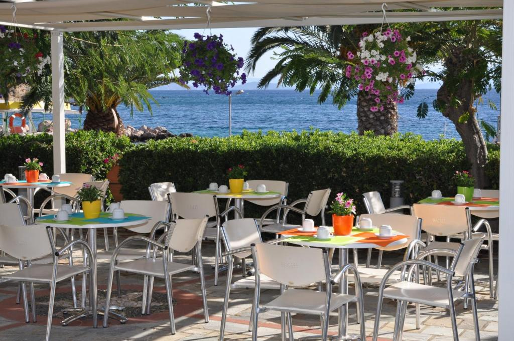 Εστιατόριο ή άλλο μέρος για φαγητό στο Kyveli Hotel Apartments