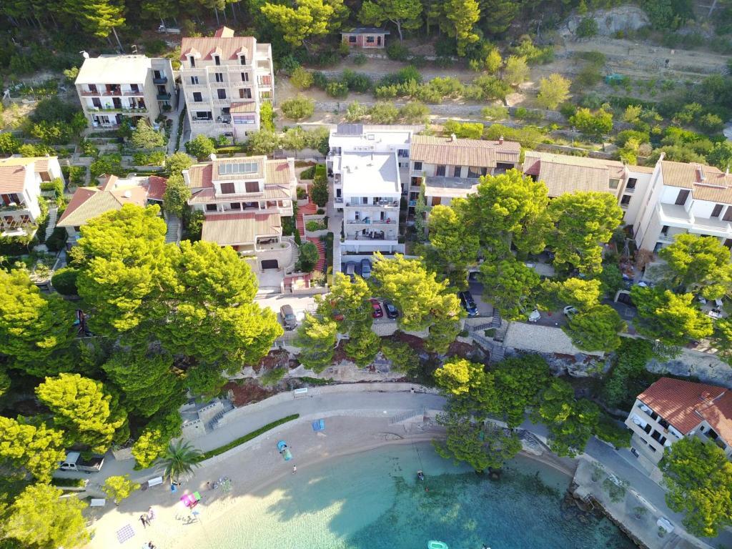 A bird's-eye view of Villa Dalmatia Apartments